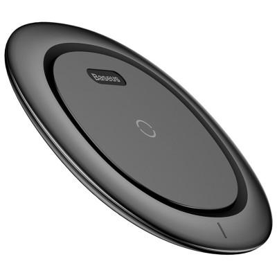 Incarcator wireless, Baseus, UFO, fast charging Qi, negru