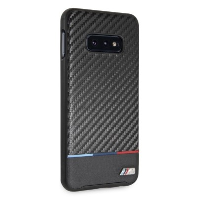 Carcasa Originala  BMW - M Collection Carbon Inspiration pentru SAMSUNG  G970 Galaxy S10E negru
