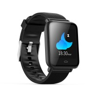 Smart Watch Q9, monitorizare fitness, notificari apeluri/mesaje, diplay HD, negru