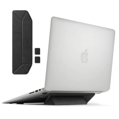 Stand Ringke, suport portabil, pliabil pentru laptop, Notebook, negru