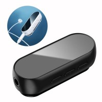Adaptor audio wireless Bluetooth receiver  Baseus BA02 mini jack jack AUX negru