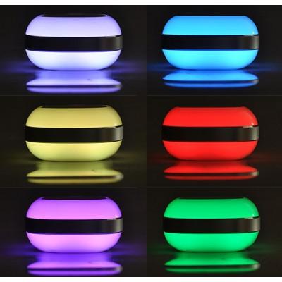 MAGIC TEL1 Boxa portabila cu Buetooth, Radio si curcubeu de lumini LED
