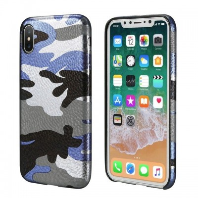 Carcasa SILICON Urban Camouflage iPHONE X XS