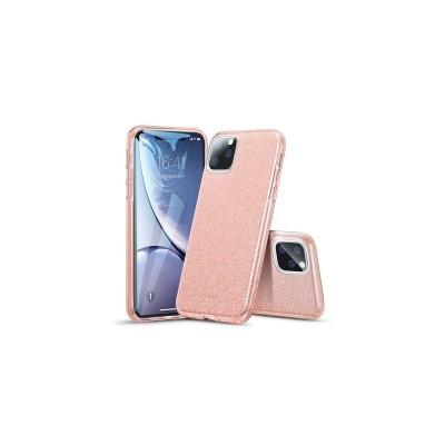 Husa iPhone 11 Pro Max ESR MakeUp Glitter - Roz