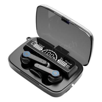 Casti wireless, OEM TWS M9 Bluetooth V 5.1, negru