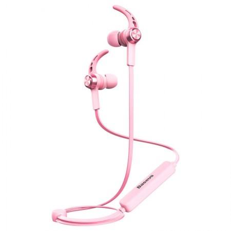 Casti In-Ear Wireless Baseus Encok B11 Roz