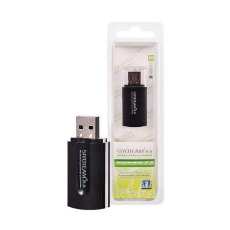 Cititor de carduri SY596 (MicroSD, SD, M2, MMC) USB  HIFG SPEED 2.0 480MBPS