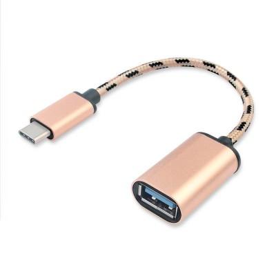 CABLU Conector 1: USB Type C tata , Conector 2: USB 2.0 Tip A mama