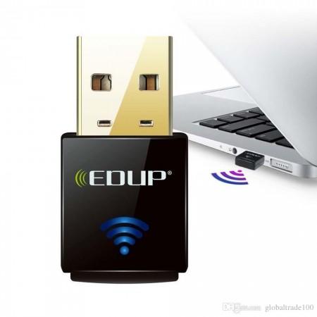Adaptor wireless, Edup, USB 300Mbps