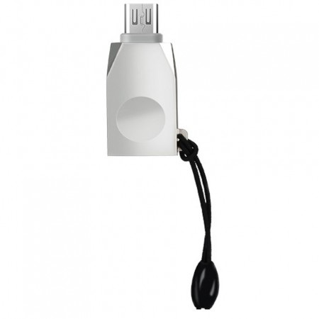 Adaptor Micro USB la OTG, Hoco, gri