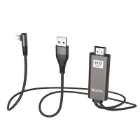 Cablu adaptor HOCO Lightning la HDMI,  2m