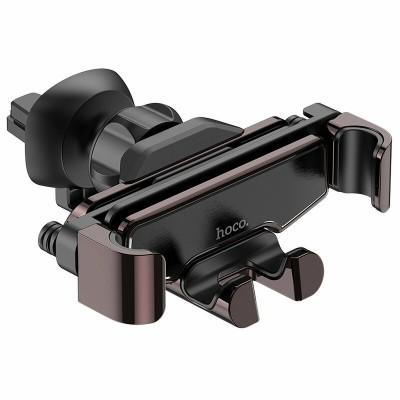 Suport Auto Hoco Selected S25 Zero Decibel Gravity Pentru Grila De Ventilatie - Negru