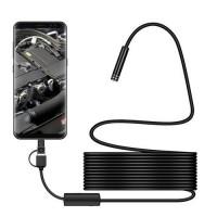 Endoscop 3 in 1 cu port USB  impermeabil cu mini camera 8 mm, 5m