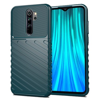 Husa Xiaomi Redmi Note 8 Pro Thunder Flexible Tough TPU - Verde