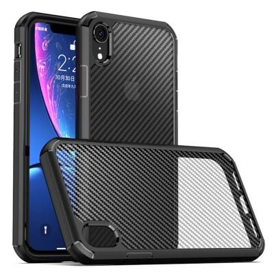Husa Techsuit CarbonFuse pentru Iphone XR, negru