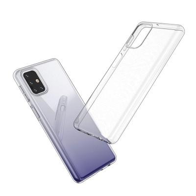 Carcasa transparenta, Ultra Slim 0.5mm, din GEL TPU pentru Samsung Galaxy M31s