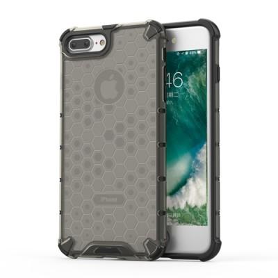 Carcasa telefon Honeycomb flexibila si rezistenta cu Bumper din TPU, iPhone 7/8 PLus