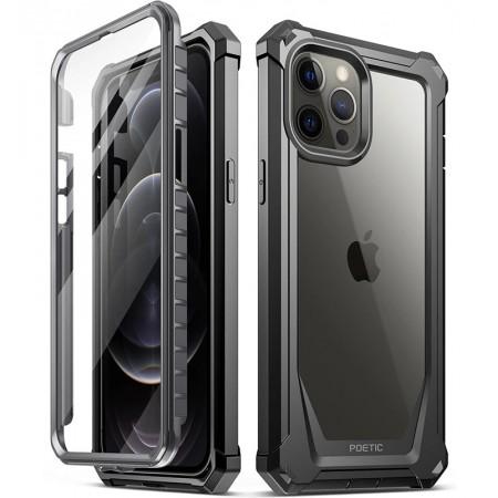 Carcasa Poetic Guardian pentru iphone 12 Pro Max, negru
