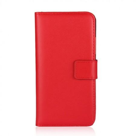 Husa Flip, din piele sintetica, cu multiple buzunare pentru card pentru iPhone 6 Plus